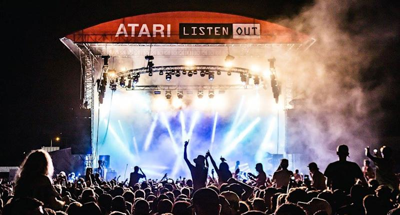 A 40-year-old man has been charged with trafficking cocaine at the Listen Out festival in Melbourne. Source: Facebook/ Listen Out