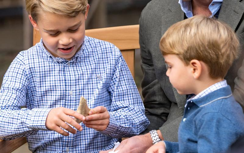 Prince George was delighted with the gift - Duke and Duchess of Cambridge