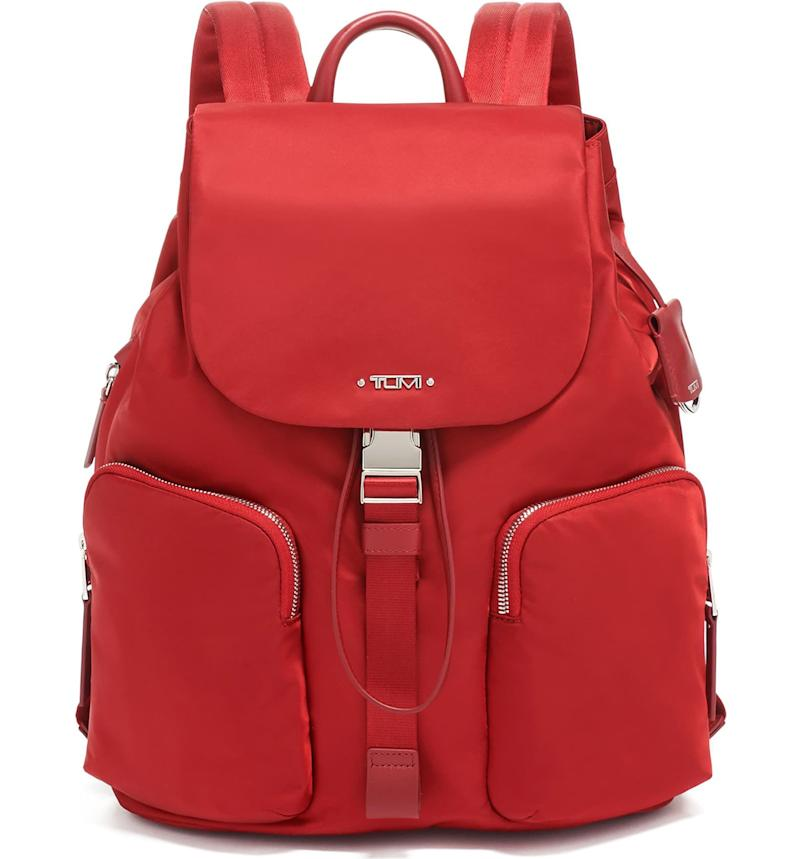 Tumi Rivas Nylon Backpack. Image via Nordstrom.