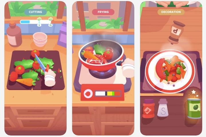 The Cook iPhone and Android kids game