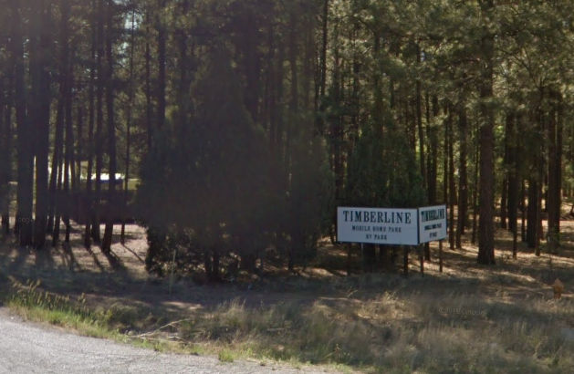 Timberline Mobile Home Park in Illinois in the US where a nine-year-old allegedly set a mobile home on fire and killed five people.