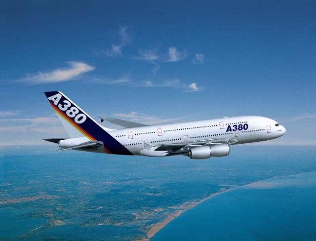 The Airbus A380 is the world's largest passenger plane - This content is subject to copyright.