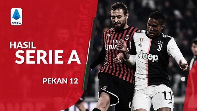 VIDEO: Hasil Serie A Pekan 12, Juventus Kalahkan AC Milan dengan Skor Tipis