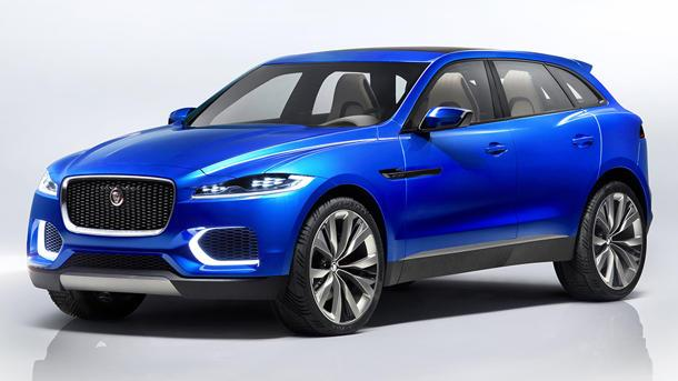 Jaguar C-X17 debuts as the automaker's first crossover SUV