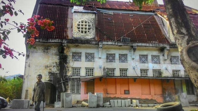 Kawasan Kota Tua yang menjadi awal peradaban Kota Padang. (Liputan6.com/ Novia Harlina)