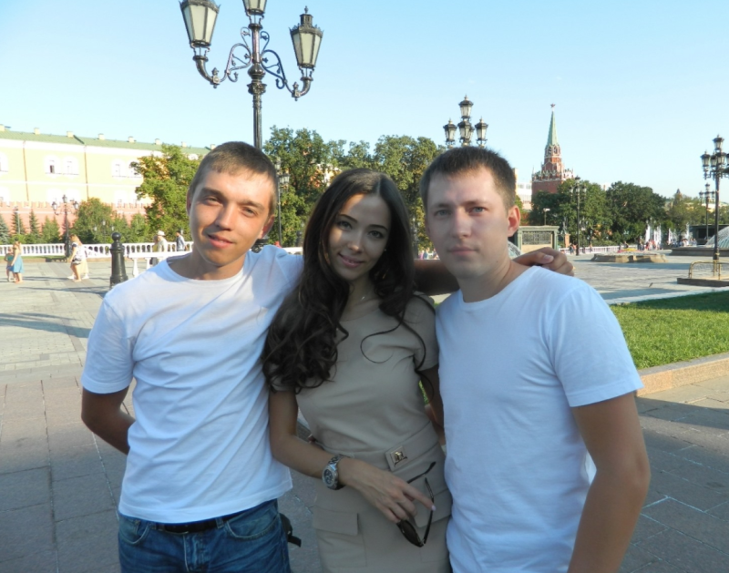 Photo of Ivan, Anastasiya and Uriy without their youngest brother, Maxim, who was moved to New Zealand in 2002.