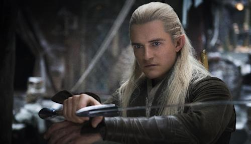 "This image released by Warner Bros. Pictures shows Orlando Bloom in a scene from ""The Hobbit: The Desolation of Smaug."" (AP Photo/Warner Bros. Pictures)"