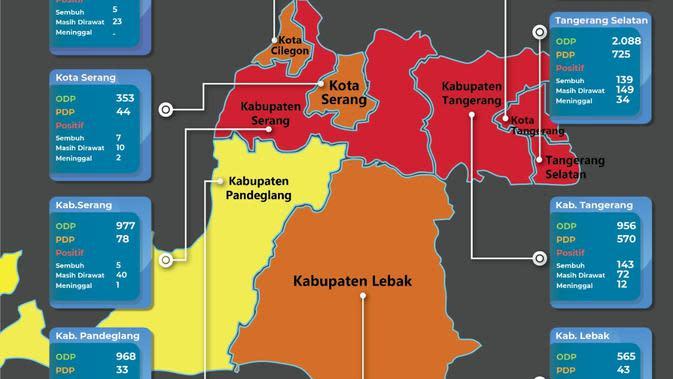 Pasien Positif COVID-19 Tanpa Gejala Kabur, Kabupaten Serang Jadi Zona Merah