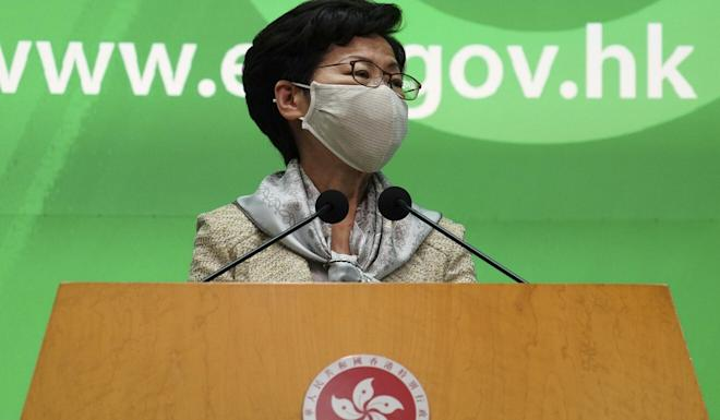 Carrie Lam says she won't evade the issue. Photo: Robert Ng