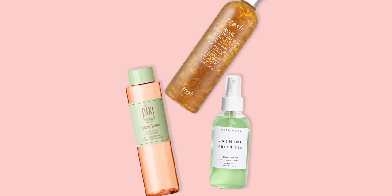 "<p>Face toners have come a long way since the old-school dehydrating astringents made to control <a href=""https://www.goodhousekeeping.com/beauty-products/foundation-reviews/reviews/g5016/best-foundation-for-oily-skin/"" target=""_blank"">oily skin</a>. ""Toners are water-based or water-alcohol based solutions or mixtures,"" says <a href=""https://www.goodhousekeeping.com/institute/about-the-institute/a16265/about-good-housekeeping-research-institute/"" target=""_blank"">Good Housekeeping Institute</a> Beauty Lab chemist <a href=""https://www.goodhousekeeping.com/author/12466/danusia-wnek/"" target=""_blank"">Danusia Wnek</a>, but ""there are now formulas that are alcohol- and astringent-free and can be less drying,"" she says. <br></p><p>This new generation of toners are often labeled as essences, tonics, waters, or solutions. ""These versions contain treatment ingredients similar to <a href=""//www.goodhousekeeping.com/beauty/anti-aging/g31136198/best-hyaluronic-acid-serums/"" target=""_blank"">serums</a> and <a href=""//www.goodhousekeeping.com/beauty-products/reviews/g5014/best-face-moisturizer/"" target=""_blank"">moisturizers</a>, so they're gentler,"" says<a href=""http://www.zeichnerdermatology.com/"" target=""_blank""> Joshua Zeichner, M.D.</a>, Director of Cosmetic & Clinical Research in Dermatology at <a href=""https://www.mountsinai.org/"" target=""_blank"">Mount Sinai Hospital</a> in New York City.  </p><p>""The goal of a toner is to remove any excess residue from cleansing and prep the skin for other skincare products,"" says Wnek. Toners are traditionally applied on clean, dry skin using fingers, cotton, or a cloth after <a href=""https://www.goodhousekeeping.com/beauty/anti-aging/g31944453/best-face-washes/"" target=""_blank"">face cleansing</a> and before other leave-on <a href=""https://www.goodhousekeeping.com/beauty/anti-aging/g28135730/best-skincare-products/"" target=""_blank"">skincare treatments</a> like serums and moisturizers.  Incorporate a toner into your <a href=""https://www.goodhousekeeping.com/beauty/anti-aging/a22850819/best-skincare-routine/"" target=""_blank"">skincare routine</a> if you want additional complexion-purifying or treatment benefits or want to swap out heavier skincare formulas for lighter liquids in warmer months. </p><p>When shopping for a toner, look for formulations tailored to your complexion type or primary skin concern or goal. Here are Wnek's suggetions:</p><ul><li><strong>To <a href=""https://www.goodhousekeeping.com/beauty/anti-aging/a35847/how-to-minimize-pores/"" target=""_blank"">shrink pores</a>, </strong>look for astringents such as alcohols or <a href=""https://www.goodhousekeeping.com/home/cleaning/a32020239/does-witch-hazel-disinfect/"" target=""_blank"">witch hazel</a> that tighten skin.</li><li><strong>To <a href=""https://www.goodhousekeeping.com/beauty-products/g26311613/best-face-scrubs/"" target=""_blank"">exfoliate</a> skin, </strong>shop ingredients like <a href=""https://www.goodhousekeeping.com/beauty/anti-aging/a30933508/aha-vs-bha-skincare-benefits/"" target=""_blank"">hydroxy acids</a> that increase cell turnover for <a href=""https://www.goodhousekeeping.com/beauty/anti-aging/a28541767/how-to-get-glowing-skin-tips/"" target=""_blank"">glowing</a> results.</li><li><strong>For <a href=""https://www.goodhousekeeping.com/beauty/anti-aging/a29993947/dry-skin-on-face-treatments-causes"" target=""_blank"">dry</a> or <a href=""//www.goodhousekeeping.com/beauty/anti-aging/tips/g1382/sensitive-skin-solutions/"" target=""_blank"">sensitive skin</a>,</strong> opt for soothing, moisturizing ingredients and <a href=""https://www.goodhousekeeping.com/beauty/anti-aging/a31156276/what-are-humectants-skincare/#:~:text=%22Humectants%20are%20water%2Dloving%20ingredients,Beauty%20Lab%20chemist%20Danusia%20Wnek."" target=""_blank"">humectants</a> like glycerin or aloe to hydrate without irritation. </li></ul><p>Here, the best face toners you can buy for all skin types, from <a href=""https://www.goodhousekeeping.com/beauty-products/g5059/best-primers-for-oily-skin/"" target=""_blank"">oily</a> and <a href=""https://www.goodhousekeeping.com/beauty/anti-aging/g27169923/adult-acne-treatment-causes/"" target=""_blank"">acne-prone</a> to combination, dry and <a href=""https://www.goodhousekeeping.com/beauty/anti-aging/g30298302/best-moisturizers-for-sensitive-skin/"" target=""_blank"">sensitive</a>, for <a href=""https://www.goodhousekeeping.com/beauty/anti-aging/g29323401/best-dark-spot-corrector/"" target=""_blank"">hyperpigmentation</a> and more, according to GH Beauty Lab scientists and experts.<br></p>"