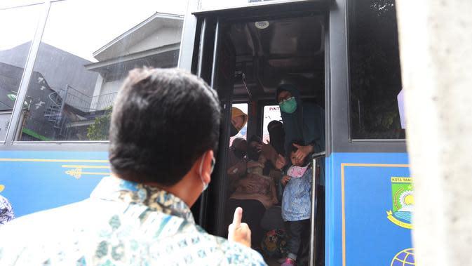 Puluhan anak yatim di Kota Tangerang terkonfirmasi positif Covid-19. (Pramita Tristiawati/Liputan6.com)