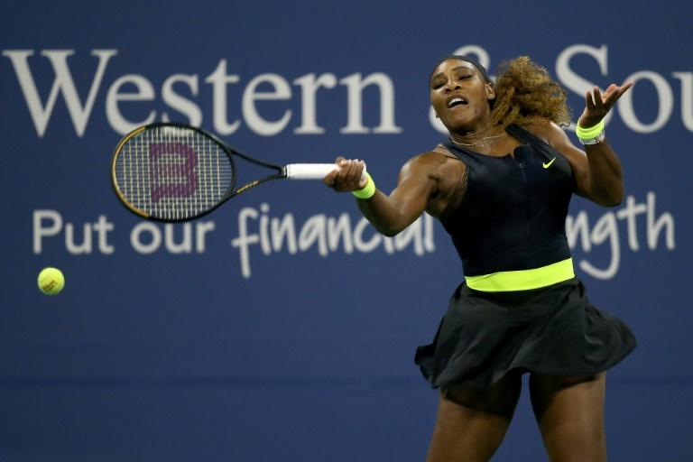 Serena launches bid for 24th Slam with straight-sets US Open win