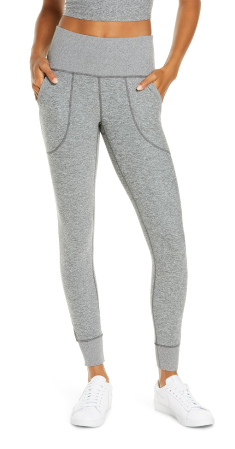 Zella Restore Soft Pocket Leggings in Grey Shade