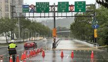 午後大豪雨 台北市信義區多處淹水(1) (圖)