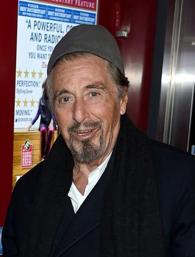 """Al Pacino is an Emmy contender as best actor in a limited series or TV movie for his role in """"Paterno"""" The contenders include , Kyle MacLachlan (""""Twin Peaks""""), Benedict Cumberbatch (""""Patrick Melrose"""") and Michael B. Jordan (""""Fahrenheit 451"""").Images/AFPNEW YORK, NY - APRIL 03: Al Pacino attends the Quad Cinema One Year Anniversary at Quad Cinema on April 3, 2018 in New York City. Jamie McCarthy/Getty Images/AFP"""