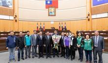 陳睿生宣誓就職桃園市議員 鄭文燦表達祝賀期許合作服務鄉親