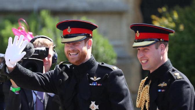 Pangeran William dan Pangeran Harry (Instagram/kensingtonpalace)