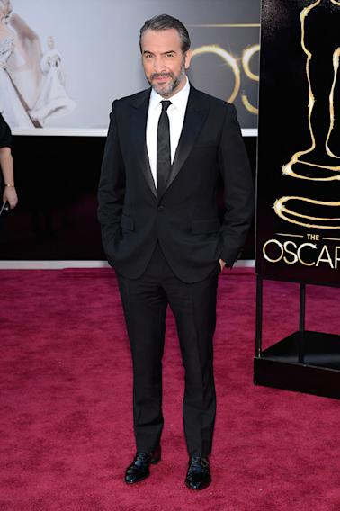 85th Annual Academy Awards - People Magazine Arrivals: Jean Dujardin