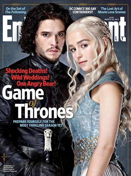 'Game of Thrones' Covers the New Entertainment Weekly