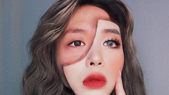 Ilusi Optik (Sumber: Instagram/hwajang.13)