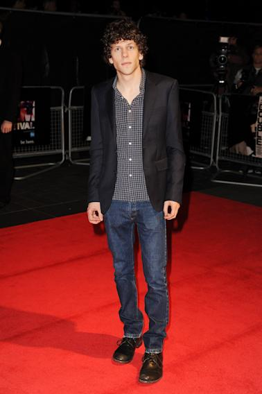 """The Double"" - Red Carpet Arrivals: 57th BFI London Film Festival"