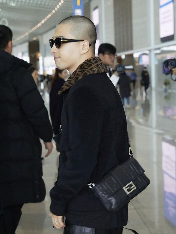 Taeyang BIGBANG/dok. Fendi