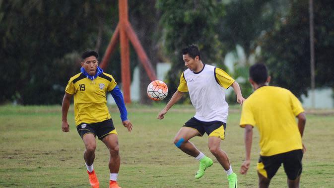 Arema FC (Liputan6.com / Rana Adwa)