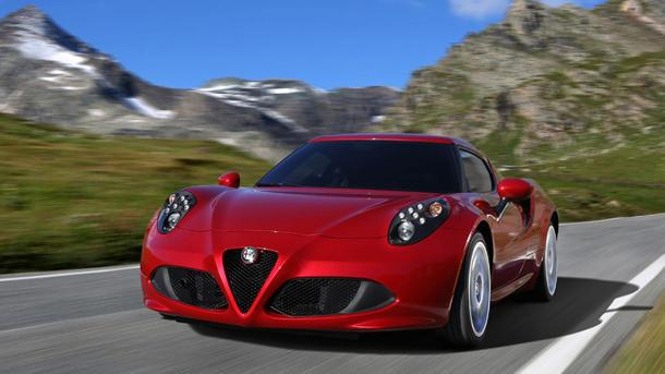 2015 Alfa Romeo 4C, one lusty Italian: Motoramic Drives