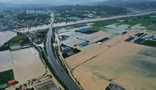 南韓暴雨引洪患 颱風恐增雨勢更慘
