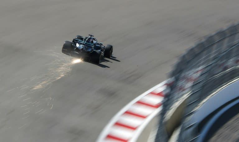 Mercedes positive virus test 'a concern' for Hamilton