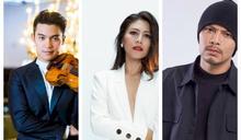 小提琴家陳銳、艾怡良、黃明志 任金馬表演嘉賓