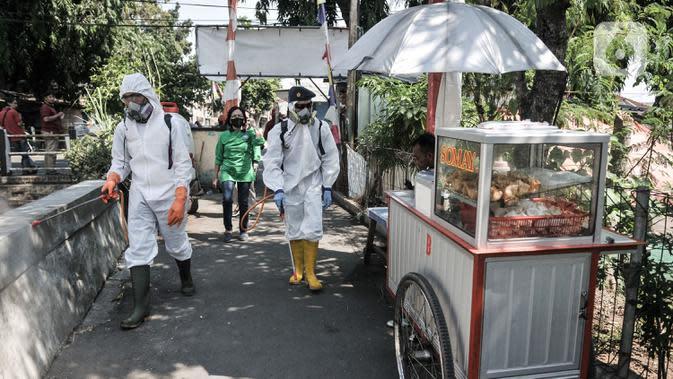 Jakpus Paling Banyak Ini Daftar 27 Rw Zona Merah Covid 19 Di Jakarta