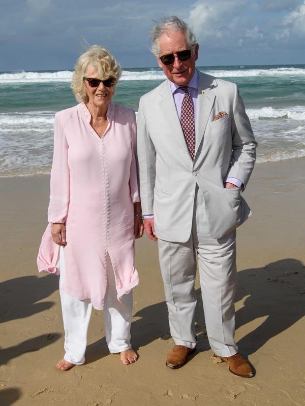Pangeran Charles bersama istrinya, Duchess of Cornwall Camilla. (AP Photo)