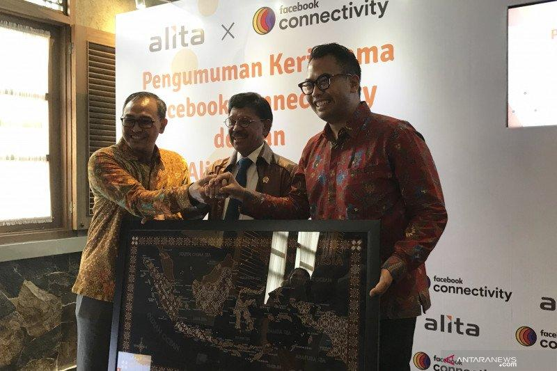 Facebook Connectivity dan Alita perluas jaringan fiber optik Indonesia