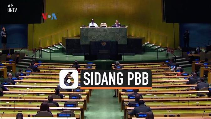 VIDEO: Sesi Hibrida Sidang Majelis Umum PBB di Masa Pandemi