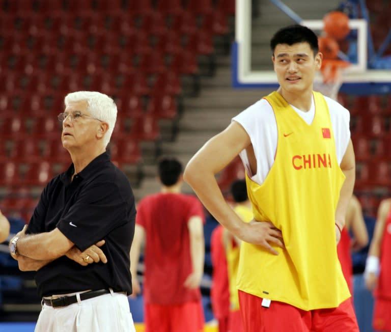 Ex-NBA, China Olympic coach Harris wins lifetime award