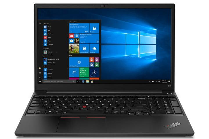 Lenovo ThinkPad E15 (white background)