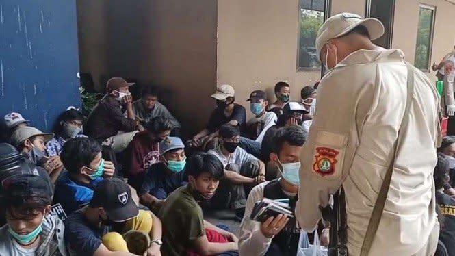Lebih 50 Persen Demonstran Omnibus Law Diciduk Usia di Bawah 19 Tahun
