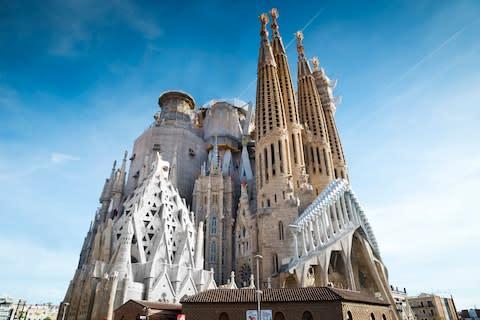 Sagrada Família - Credit: This content is subject to copyright./inigoarza
