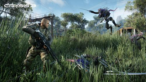 """This video game image released by Electronic Arts shows a scene from """"Crysis 3."""" (AP Photo/Electronic Arts)"""