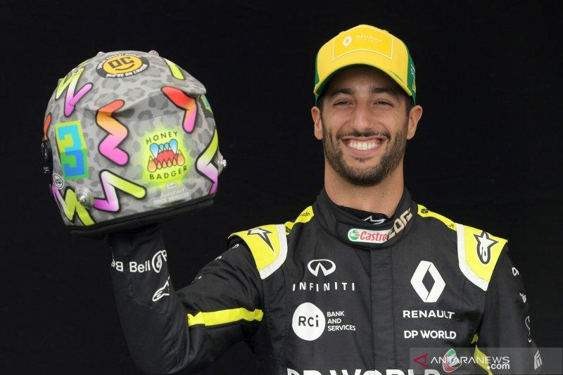Ricciardo gunakan isolasi sebagai kamp pelatihan di kala pandemi