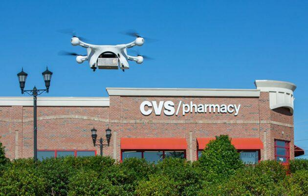 UPS / Matternet drone with CVS store