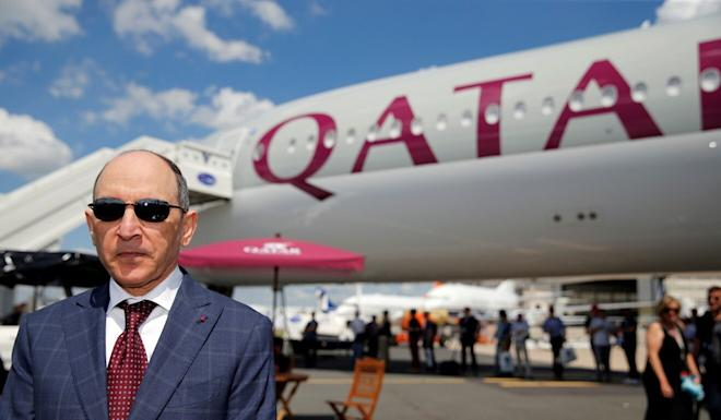 Qatar Airways is seeking to delay delivery of new aircraft for several years, says group chief executive Akbar Al Baker. Photo: Reuters