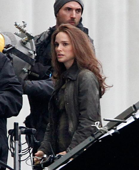 Spotted on Set, Natalie Portman