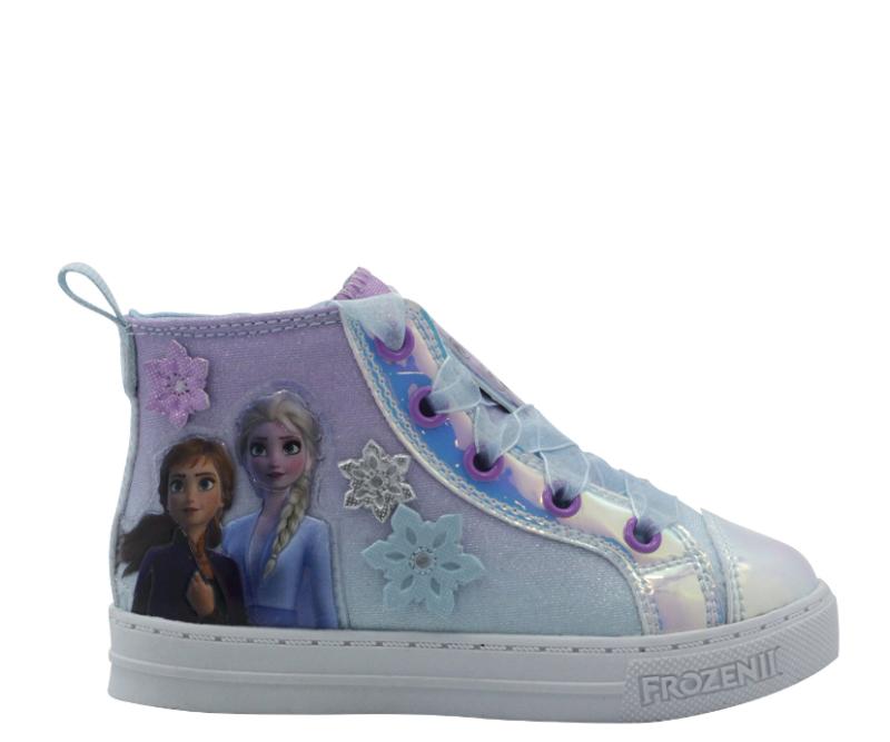 Disney Frozen II Casual High-Top Sneaker. (Photo: Walmart)
