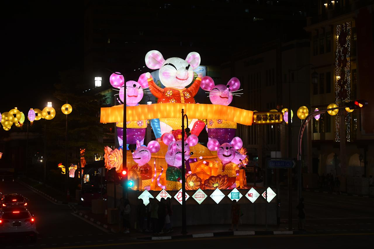 Photos Chinatown Lights Up To Welcome Year Of The Rat