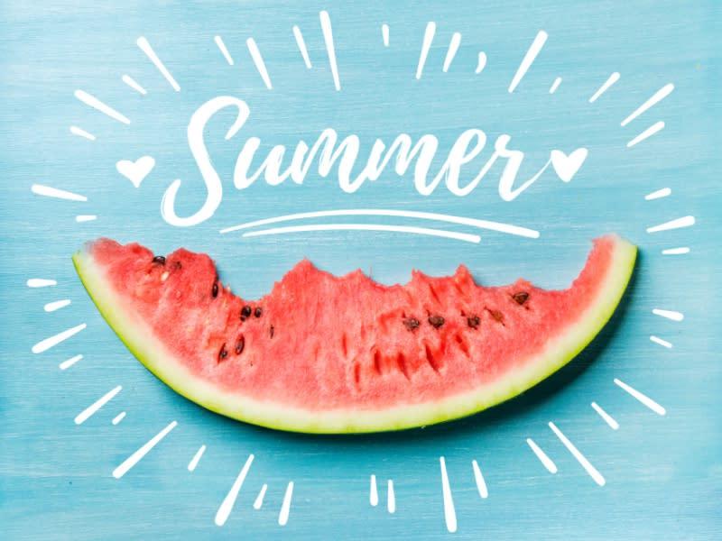吃夏季降溫蔬果 多喝水降火
