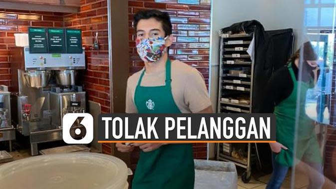 VIDEO: Tolak Layani Pelanggan Tak Bermasker, Barista Dapat Tip 27 Ribu Dolar