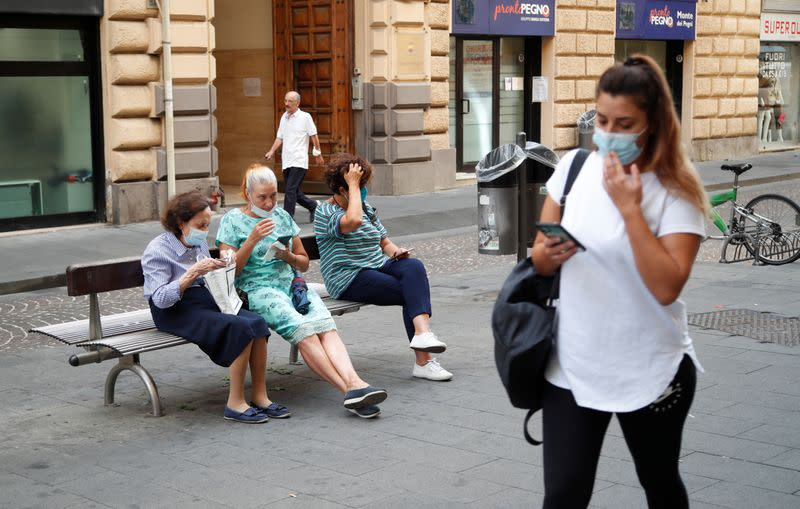 Italy tops 2,000 daily coronavirus cases for first time since April -health ministry