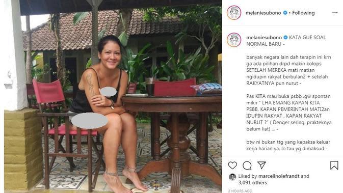 Melanie Subono (Foto: Instagram/@melaniesubono)